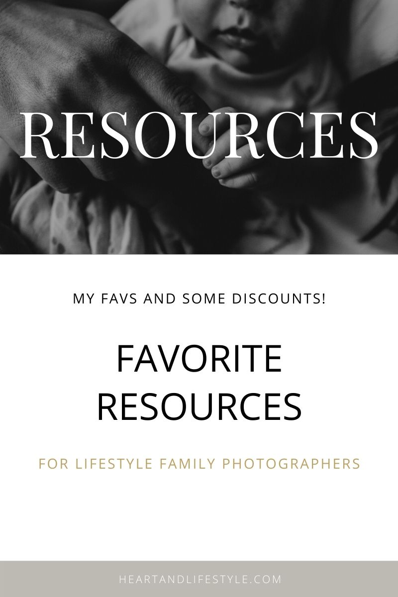 resources for lifestyle family newborn photographers